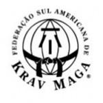 Logotipo da KRAV MAGA. Cliente da Peixe Voador.