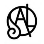 Logotipo da SAL. Cliente da Peixe Voador.